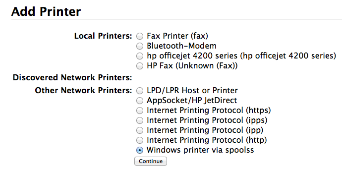 Mapping a Printer on Mac: Students (OS 10 9 and older
